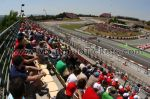 Tribune E, GP Barcelone<br />Circuit de Catalogne Montmelo